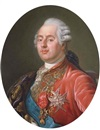 Joseph Boze, King Louis XVI of France wearing the Order of the Golden Fleece, the Order of Saint Esprit and the Order of Saint Louis
