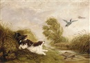 Arthur Batt, Spaniels flushing out ducks