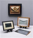 Andrew Bush, Selection of three envelopes (3 works), various sizes-