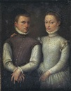 Attributed To Sofonisba Anguissola, Portrait d'un couple