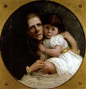Mary Corbett, Mother and child