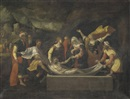 Follower Of Benvenuto Tisi da Garofalo, The Entombment of Christ