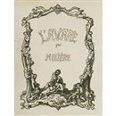 Johannes Thiel, Moliere - L'Avare (in 2 volumes; one with 20 works, the other with 40 proofs for the previous volume, plus 20 pen and ink preliminary drawings)