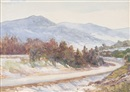 William Malcolm Cutts, Winter in the Blue Ridge Mountains