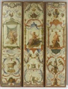 Attributed To Claude Audran III, Tapestry cartoon (+ 5 others; set of 6 from Les Douze Mois Grotesques)