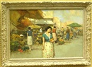 Giuseppe Pitto, Women at an Italian market