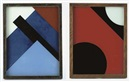 Huib Hoste, Reverse glass painting (+ similar, 2 works)