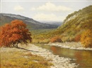 Palmer Chrisman, Untitled: Hill country autumn