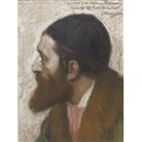 Edouard Moyse, Portrait of a rabbi