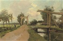 Jacob Ritsema, Two drawbridges near Kortenhoef
