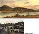 Franz Wilhelm Lenteritz, Bad Schandau an der Elbe - along the river Elbe