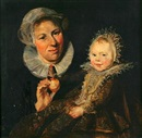 After Frans Hals the Elder, Catherine Hooft and her nurse
