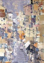 Avraham Binder, Abstract street scene