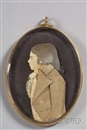 Attributed To Mary Way, Dressed portrait (+ Portrait of a gentleman, c.1840, watercolor on ivory; verso)