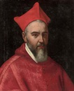 Circle Of Scipione Pulzone, Portrait of a Cardinal