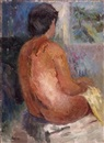 Zvi Adler, Nude from the back
