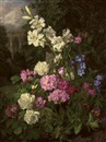 Martha Darley Mutrie, Garden in the close
