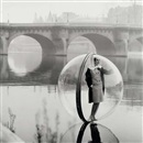 Melvin Sokolsky, On the Seine, Paris, for Harper's Bazaar
