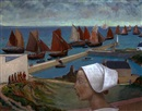 René Quillivic, Le port d'Audierne