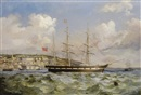 George Atkinson, Shipping off Cobh