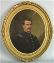 Michael Strieby Nachtrieb, Portrait of a Civil War officer