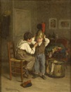 Théophile Emmanuel Duverger, Playing at soldiers