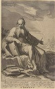 Willem Isaaksz Swanenburgh the Elder, S. Paulus (after Abraham Bloemaert)