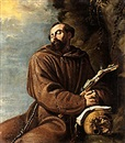 Attributed To Clemente de Torres, Den helige Franciskus