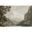 John Robert Cozens, Between Lauterbrunn and Grindelwald