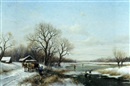Dorus Arts, Canadian winter