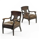 Gaspar Homar, Pair of armchairs