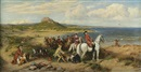 Henry Hetherington Emmerson, Conway Castle and an elegant hunting party