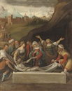 After Benvenuto Tisi da Garofalo, The Entombment