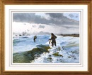 John P Cowan, Surf fishing