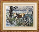 John P Cowan, Golden retriever with a goose
