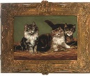 Arthur Batt, Three kittens