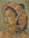 Anak Agung Gede Sobrat, Portrait of the artist's daughter