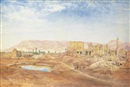 Henry Roderick Newman, View at Karnak, Egypt
