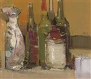 Gordon Bryce, Still life with Chinese jar