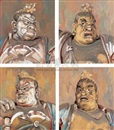 Li Yanzhou, 守护神 (四幅) (Guardian spirits) (set of 4)