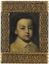 Circle Of Sofonisba Anguissola, Portrait of a young boy, with a lace collar