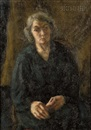 Samuel Brecher, Woman in black