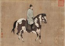 Attributed To Zhao Yi, 人马图 (Riding horse)