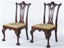 Thomas Chippendale, Pair of chairs