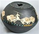 Randall Blaze, Buffalo hunt pot