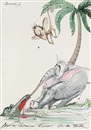 Gerald Scarfe, How the republican elephant got his trunk