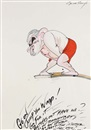 Gerald Scarfe, Go on, jump you wimp!