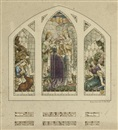 George Murray, Design for a stained glass window (+ 4 others; 5 works)