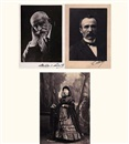 Paul Nadar, Emile Augier (+8 others; 9 works)