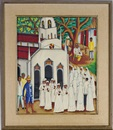 Castera Bazile, Church procession